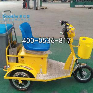 挂桶式三轮电动保洁车
